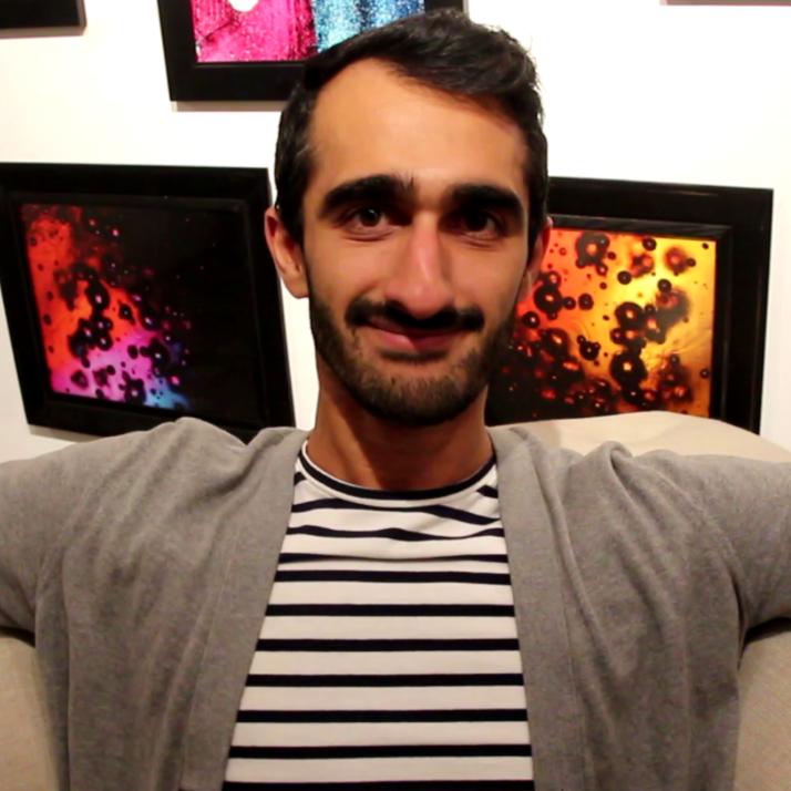 Mohamed Farazi - Web Developer/Art Gallery Owner